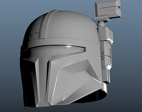 Heavy Infantry Mandalorian 3D printable model