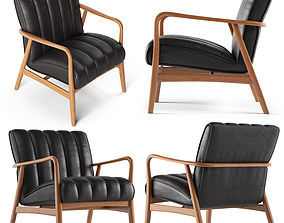 3D Cult Furniture Cooper Wooden Armchair