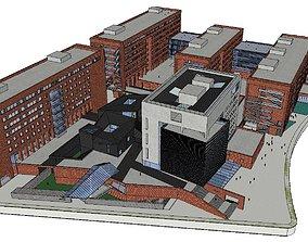 Region-City-School 114 3D model