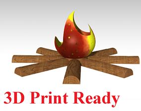 3D print model Fire Lamp