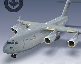Canadian Air Force CC-177 Globemaster III 3D asset