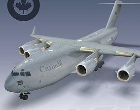 Canadian Air Force CC-177 Globemaster III 3D asset