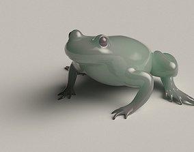 Frog basemesh version B - 5 k tris 3D model