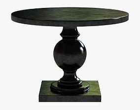 3D model Arcadia Round Pedestal Table