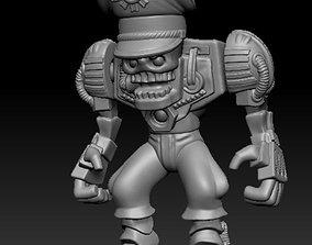 3D printable model Toy warrior