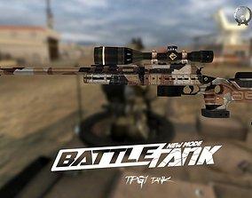 Tpg1 Gun-weapon model VR / AR ready