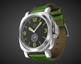 Aviator wrist watch 1956 My own design 3D