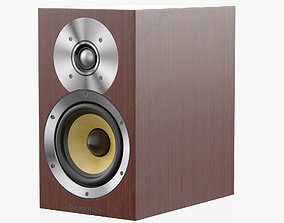Bowers and Wilkins CM 1 Wenge 3D model