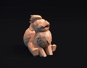 3D printable model Growlithe - - Stylized Pokemon 2