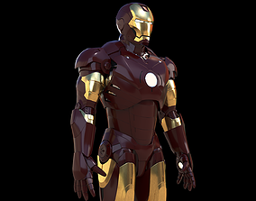 Iron Man Mark 3 3D model