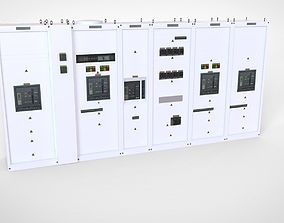 3D asset Main industrial electrical switchboard
