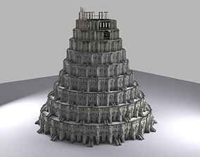 Tower of Babel 3D model