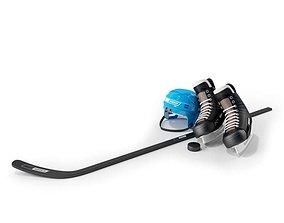 Sports Hockey Equipment 3D
