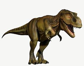 Tyrannosaurus Rex 3D model game-ready