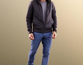 3D model 11383 Jason - Casual Man Taking Step
