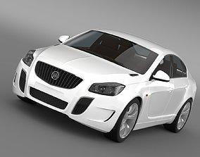 3D model Buick Regal GS Concept 2010