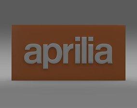 3D Aprilia Logo