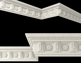 3D asset Decor molding 5