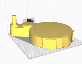 Synch Generator or spacer for proton pack 3D print model