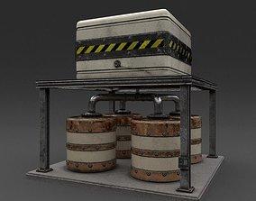 Generator 01 Weathered 3D model