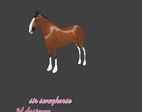 neigh Horse 02 3D model