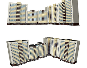 3D Multi-storey sectional house