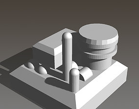 3D print model Advance Building for On Mars Boardgame