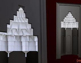 3D muqarnas ottoman
