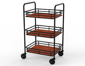 Generic Cart Kitchen Transport 01 3D