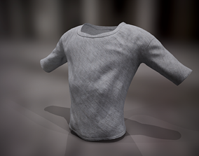 T-Shirt 3D asset low-poly