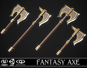 Fantasy Axe 1 - 4 Variations 3D