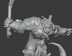 3D printable model warcraft