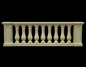 3D Classic Balustrade