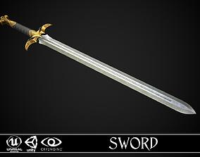 3D asset Sword A2