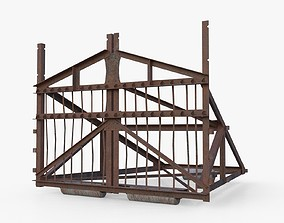Belgian Gate 3D asset
