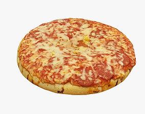 3D model salami Pizza 001