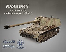 SdKfz 164 NASHORN 3D model