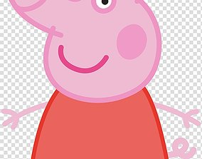 3D printable model Peppa Pig Cookie-Fondant Cutter with