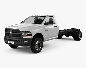 Dodge Ram 5500 Regular Cab Chassis L4 2012 3D model
