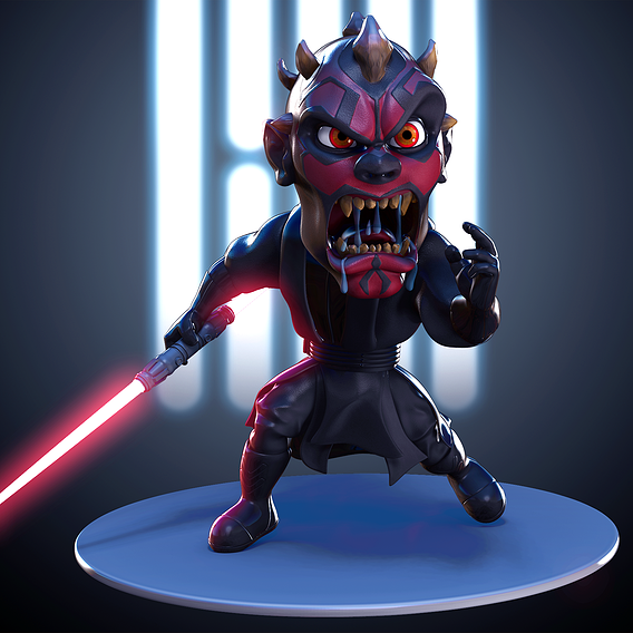 Star Wars: Darth Maul - fan art