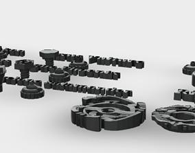 Beyblade MFB Functional Parts 3D printable model