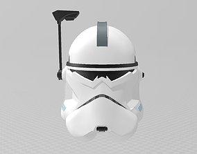 3D printable model Star Wars Clone Commander Wolffe Helmet