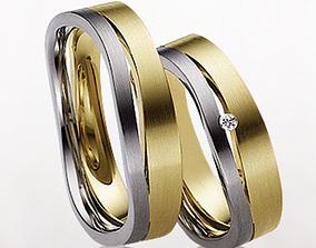Wedding ring 020 3D printable model
