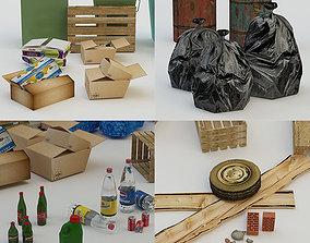 3D asset Urban Debris Pack
