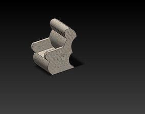 3D model cahair