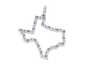 3D print model Empty Texas Earring