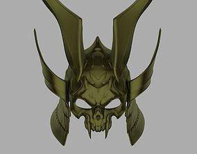 Emperor Shao Kahn helmet from Mortal 3D print model 4