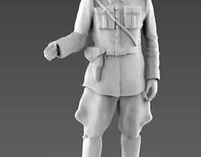 policeman soldier german soldat 3d model
