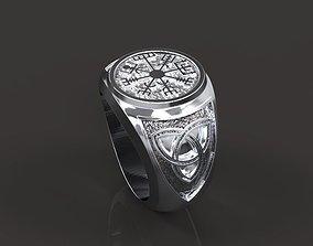 Viking ring 3D print model