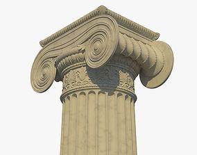 3D Ionic column a